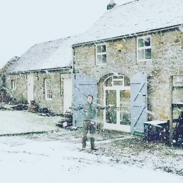 Throwing it back to January 2018, a very different distillery! Who is missing the snow this year? ️ we think @hepple_chris might be! - from Instagram