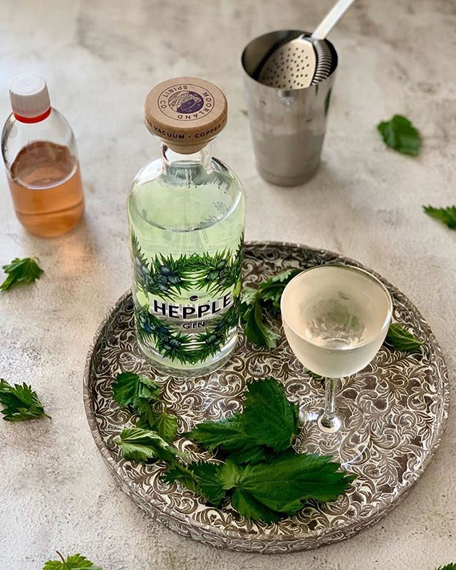 The perfect day to head out foraging ingredients from Hepple for this delicious Nettle Gimlet by @the_cocktailguy #repost. •60ml Hepple Gin, 25ml Nettle Cordial, 1 Dash Tarragon & Grapefruit Bitters.•𝙵𝚘𝚛 𝚃𝚑𝚎 𝙽𝚎𝚝𝚝𝚕𝚎 𝙲𝚘𝚛𝚍𝚒𝚊𝚕.𝚈𝚒𝚎𝚕𝚍𝚜 𝙰𝚙𝚙𝚛𝚘𝚡: 𝟸𝟻𝟶𝚐𝚛—————1. Collect and wash 20gr Nettles.2. Place a pan containing 200ml water on the hob.3. Bring to a gentle simmer, add nettles and infuse for 5-8 mins.4. Allow to cool and filter.5. Mix in 100gr of Sugar as well as 2gr Tartaric Acid & 4gr Lactic acid.6. Bottle.•𝙵𝚘𝚛 𝚃𝚑𝚎 𝚃𝚊𝚛𝚛𝚊𝚐𝚘𝚗 & 𝙶𝚛𝚊𝚙𝚎𝚏𝚛𝚞𝚒𝚝 𝙱𝚒𝚝𝚝𝚎𝚛𝚜. 𝚈𝚒𝚎𝚕𝚍𝚜 𝙰𝚙𝚛𝚘𝚡: 𝟷𝟶𝟶𝚐𝚛—————1. Add 7.5gr Tarragon to 100gr The Bitter Truth Grapefruit Bitters.2. Infuse for 48 hours3. Filter & bottle. - from Instagram
