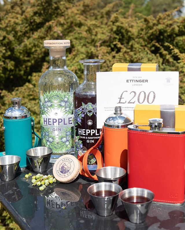 FATHER'S DAY COMPETITION  Last chance to enter, the winner will be drawn on Tuesday!  We have teamed up with the brilliant luxury leather goods manufacturers Ettinger @ettinger.london to offer you a fantastic prize of 6 bottles of Hepple Spirits and a £200 Ettinger gift voucher. ⠀⠀⠀⠀⠀⠀⠀⠀⠀•⠀⠀⠀⠀⠀⠀⠀⠀⠀To enter this competition, you must follow @hepple_spirits and @ettinger.london , like this post and tag a friend who shouldn't miss out on entering.  Good Luck!!⠀⠀⠀⠀⠀⠀⠀⠀⠀•⠀⠀⠀⠀⠀⠀⠀⠀⠀•⠀⠀⠀⠀⠀⠀⠀⠀⠀T and C's.⠀⠀⠀⠀⠀⠀⠀⠀⠀• 1)  Prize of 6 bottles Hepple Spirits can be made up of Hepple Gin and Hepple Sloe and Hawthorn gin only.⠀⠀⠀⠀⠀⠀⠀⠀⠀• 2)  You must be over 18 years old to enter the competition, proof will be required before the prize is shipped.⠀⠀⠀⠀⠀⠀⠀⠀⠀• 3)  Prize can only be shipped to a UK address.⠀⠀⠀⠀⠀⠀⠀⠀⠀• 4)  One entry per person, multiple entries will be discounted.⠀⠀⠀⠀⠀⠀⠀⠀⠀• 5) Prize to be drawn on 16th June. - from Instagram
