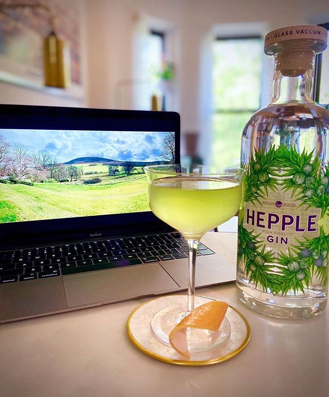 To celebrate World Martini Day Hepple co-founder @valentine_warner and our uber-talented bar-goddess & Hepple friend @akhada_ are stretching their hands across the ocean to pair AK's Hepple Moorland Martini with Val's oyster wearing watercress, a salty nibble from the Cold Northumberland seas.•Moorland Martini .•- 2 oz Hepple Gin.- 1 oz Dry Riesling.- 0.5 oz Lovage cordial.- 2 dashes @suzeofficial.- Expressed and discarded grapefruit twist.•Stir with ice and serve up in a chilled coupe. •—————————— •Aw Shucks' ...Oyster Wearing Watercress, Serves 2.•- 6 medium rock oysters, shucked and retaining juice and lower shell part. - 75g butter.- 2 sticks celery, finely diced.- 1 clove garlic, grated.- Half tsp fennel seeds.- 6 lovage leaves.- 40g watercress, washed and drained.- 1 overflowing tsp vermouth.- 1 tsp curry powder. - 1 tbsp ground almonds.- Sharpening of lemon. - Flaked sea salt to taste.———————————•Method in comments below 🏼•#worldmartiniday #hepplemartini #martini #martiniday #ginlovers #martinilovers #hepplegin #gin #hepplespirits #thewildernesstonic #recipes #recipesofinstagram #chefsofinstagram #valentinewarner #akhada #northumberland #rewilding #spirits #america #newyork #bartenders #bartendersofinstagram #mixology #uniquespirits #quarantini #cocktailideas #oysters #oysterrecipes #homebartenders #heppleathome - from Instagram