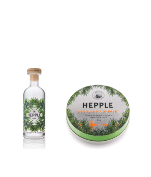 Hepple Gin 20cl and Douglas Fir Sherbet